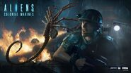 Alien Colonial Marines Facehugger