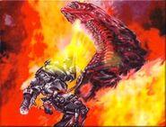 Aliens Interactive Marine fights big Alien