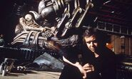 HR-Giger-on-set-in-1993.-011