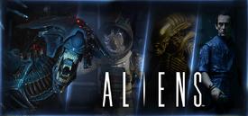 NECA Aliens banner