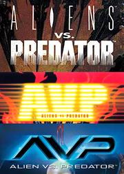 AVP comic logos