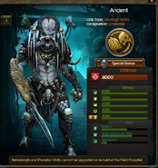 Ancient Predator clone 2