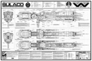Sulaco blueprint