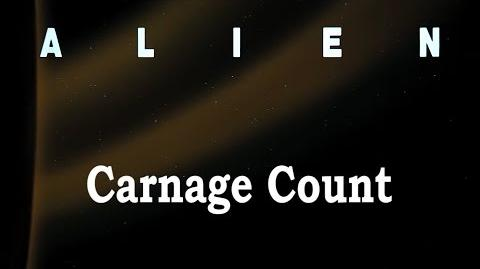 Alien (1979) Carnage Count