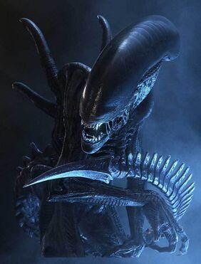 Un Alien dans Alien 3-Créature-Monstre-Extraterrestre