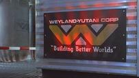 Aliens-Weyland-Yutani Sign