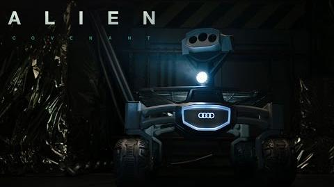 Alien Covenant x Audi lunar quattro 20th Century FOX