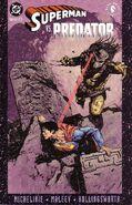 Superman vs Predator Vol 1 2 cover