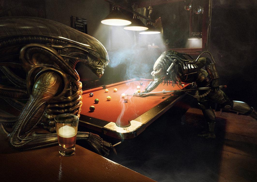 Alen Vs Predator Pool By Xidon