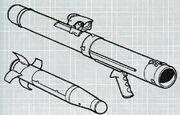 M83A2 SADAR Az M83A2 SADAR (Shoulder-launched Active-homing Disposable Anti-tank Rocket) 2