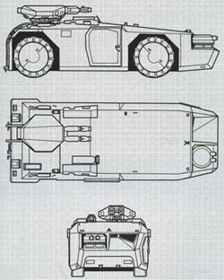 M577 PÁNCÉLOZOTT SZEMÉLYZETSZÁLLÍTÓ JÁRMŰ 2