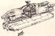 SV 90-es Reliant szállítóhajó