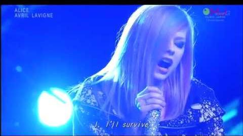 Avril Lavigne - Alice (Live)