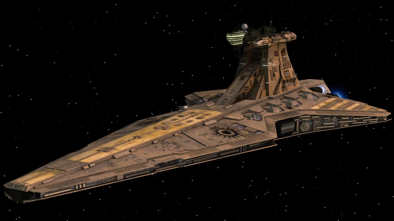 Venator Class Star Destroyer Black Sun Awakening Of The