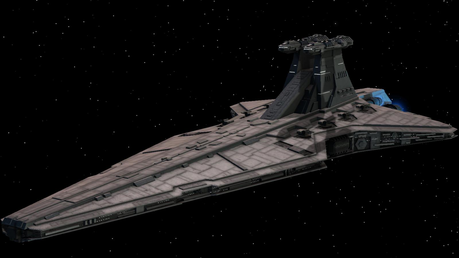 Venator Class Star Destroyer Empire Awakening Of The Rebellion