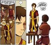 Zuko revealing the truth