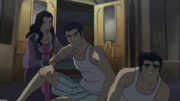 Mako and Bolin after attack
