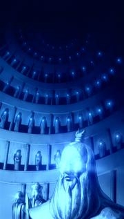 Statues glow