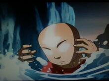 Stan avatara aanga gdy jest mały