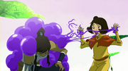 Jinora and Korra in trouble