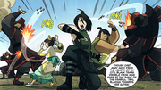 Team Beifong in action