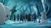 Team Avatar at the spirit portal