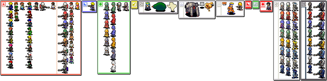 CO Sprites and custom colours Animators