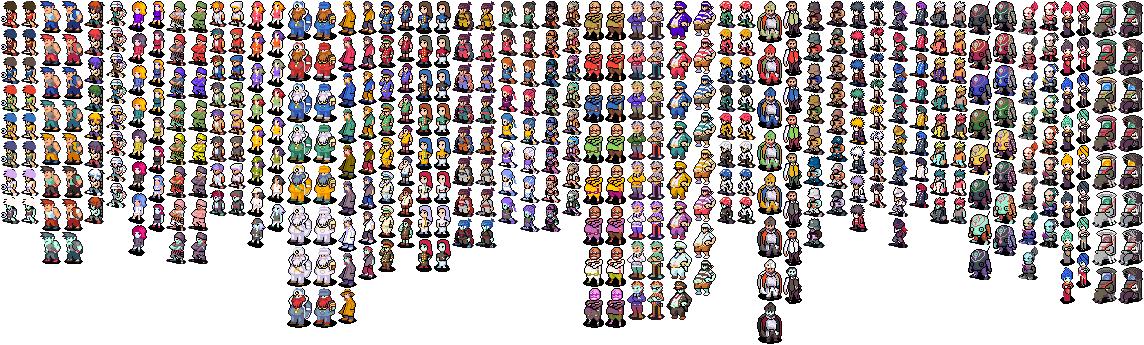 CO Sprites custom colours DS