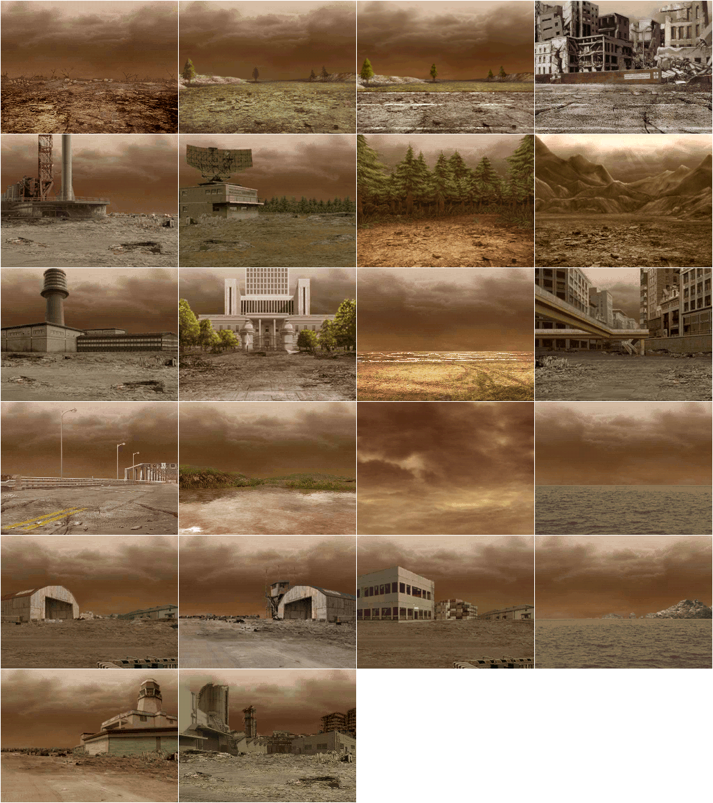 Backgrounds - Wasteland