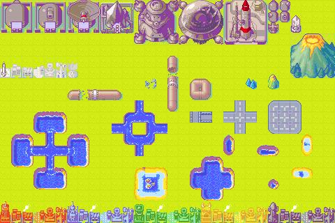 Map parts 2