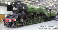 Flying Scotsman Shildon 21 Oct 2004