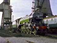 4472 FLYING SCOTSMAN at Steamtown Railway Museum