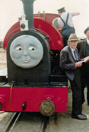 Rev W Awdry and Peter Sam - Tivedshambo 1988-05-14