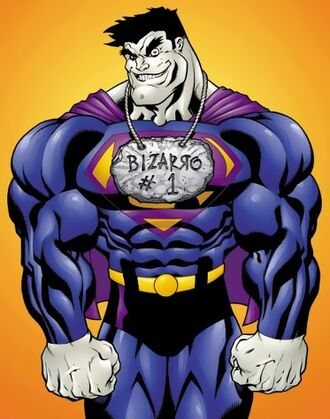 Character Profile - Bizzaro (Comic Book Version)
