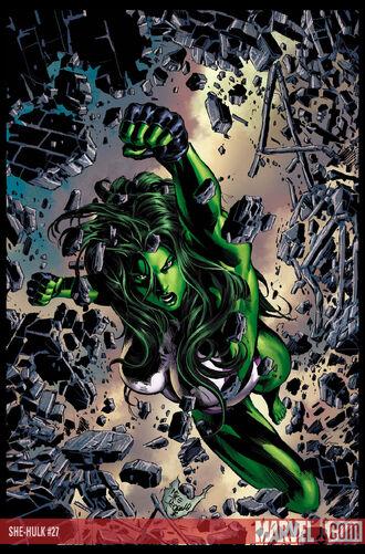 Character Profile - She - Hulk