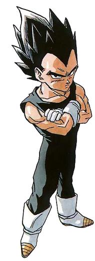 Character Profile - Prince Vegeta