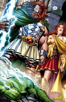 Character Profile - Zeus (Marvel Comics)