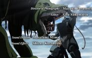 Alphonse Elric Fighting Envy in Brotherhood OP3