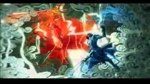 Sengoku Basara Samurai Heroes opening