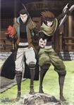 Kojuro and Sasuke