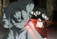 Envy Punches Al's Blood Seal When Capturing Him