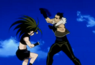Envy Fighting Greed in Original Anime 2