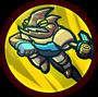 UI Skillbutton Chameleon Jump