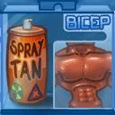 Oily Spray on Bronze