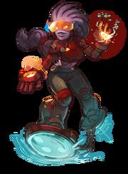 CharacterRender coco cyborg