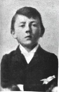 Adolf Hitler as kid