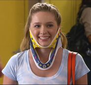 Lissa in her neckbrace again