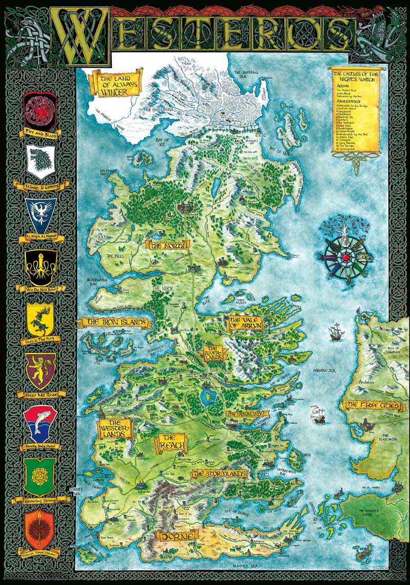 Got Karte Deutsch.The State Of The Realm Awoiaf Rp Wiki Fandom Powered By