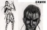 Armed with wings Hawkin-1