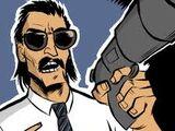 Telescope Gun Cop